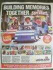 LEGOLAND..  Sun 2 FREE TICKETS WORTH £110. Booking Form + all 8 Tokens