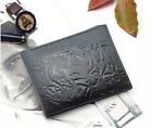 Burn Designs Leather Wallets with 2 Note Compartment Ultra Slim for Men