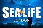 Sealife London Tickets x2 Sunday 11th October