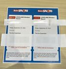 2 Legoland Tickets Friday 25th September Adult or Child 25/09/2020