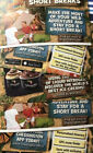Chessington tickets X 5 Full Free Entry For Use WEDNESDAY 7th  OCTOBER 2020