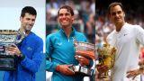 Novak Djokovic vs. Rafael Nadal vs. Roger Federer: 'GOAT' debate, grand slam wins and career titles