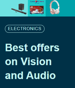 UK Best offers on Vision and Audio