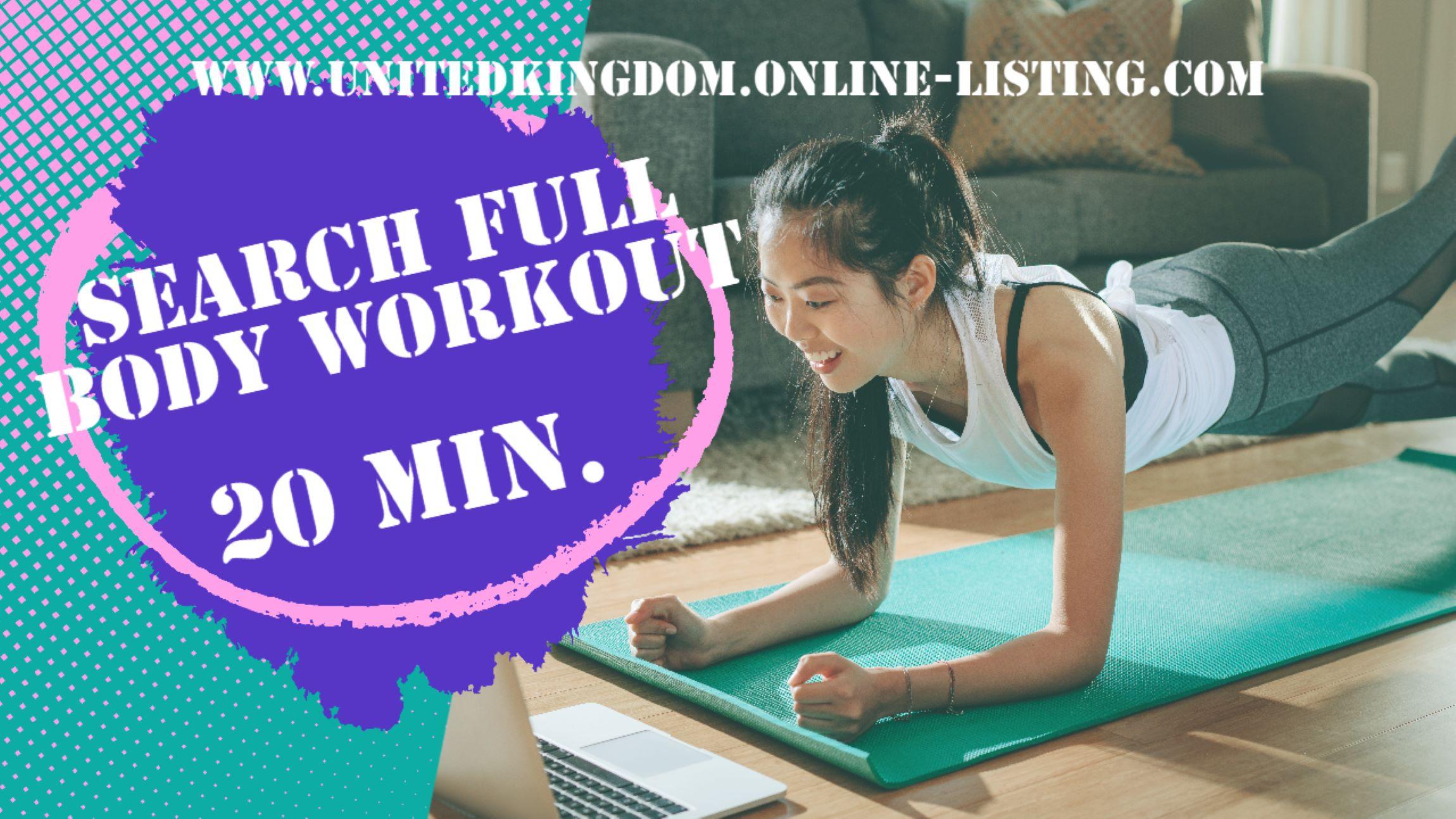 Full Body 20 Min Workout Plan